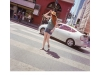 2016N087_9_Girl Tipping Brim Of Hat_Downtown Los Angeles_Calfiornia_DrumScan.jpg
