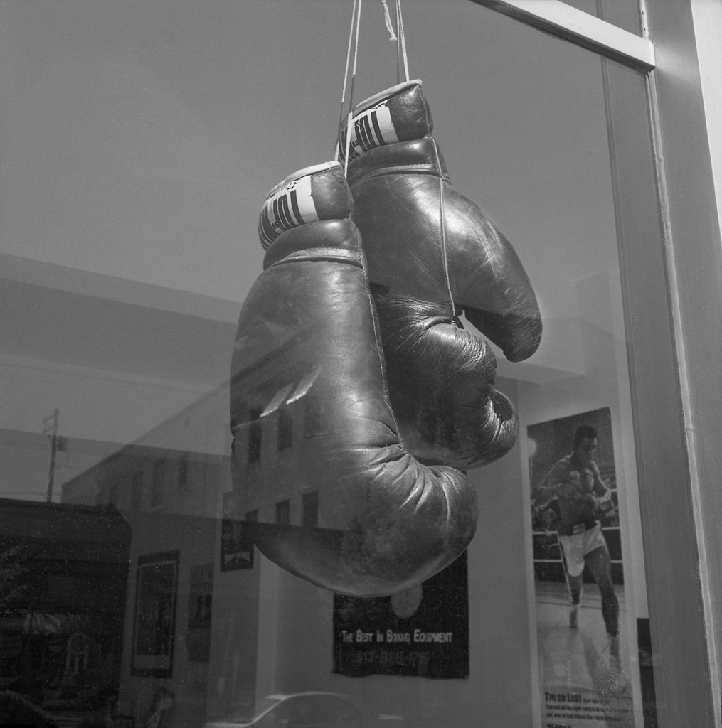 Boxing Club Window, Helena, Montana