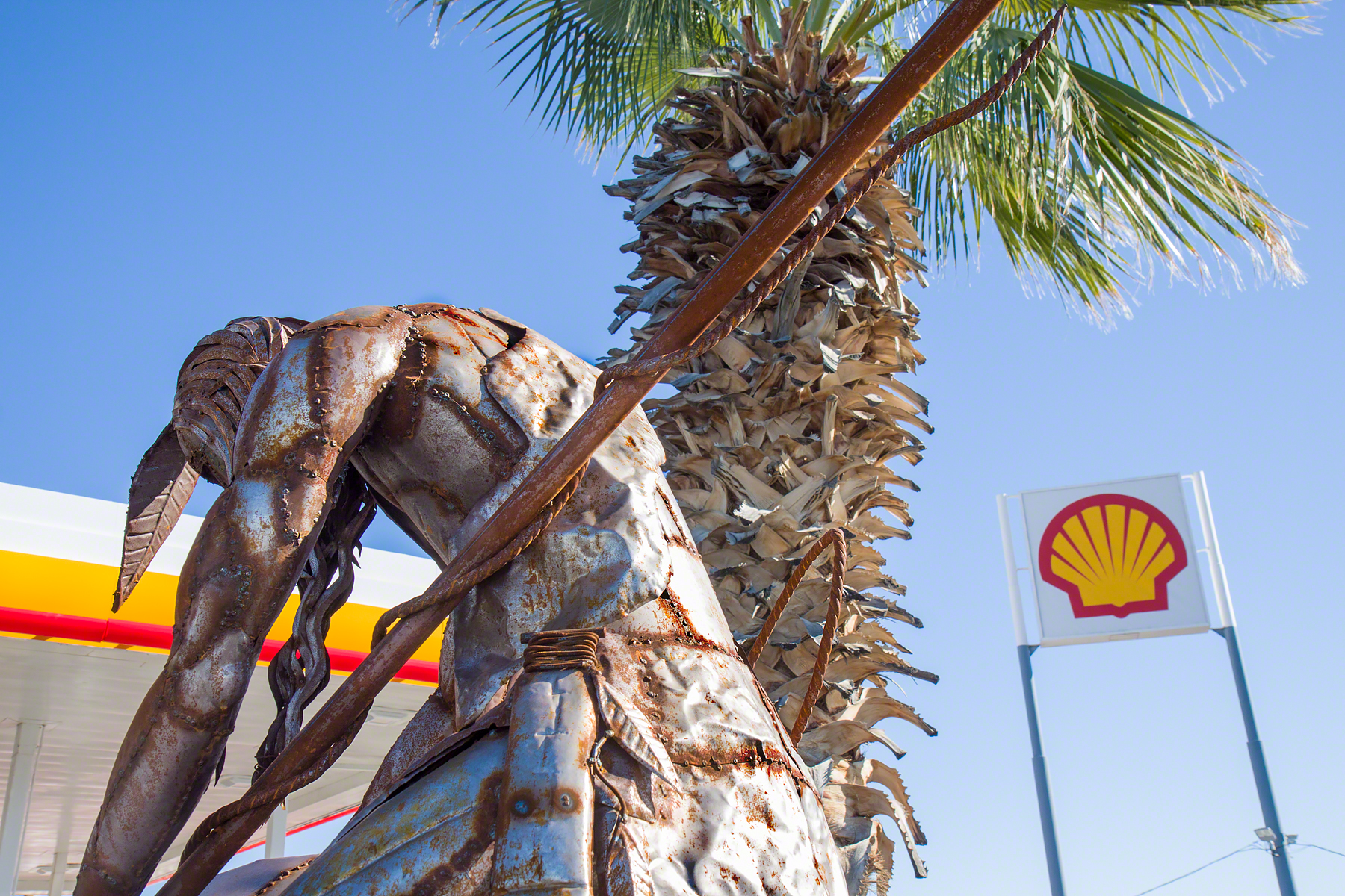 Shell Station, Hila Bend, Arizona