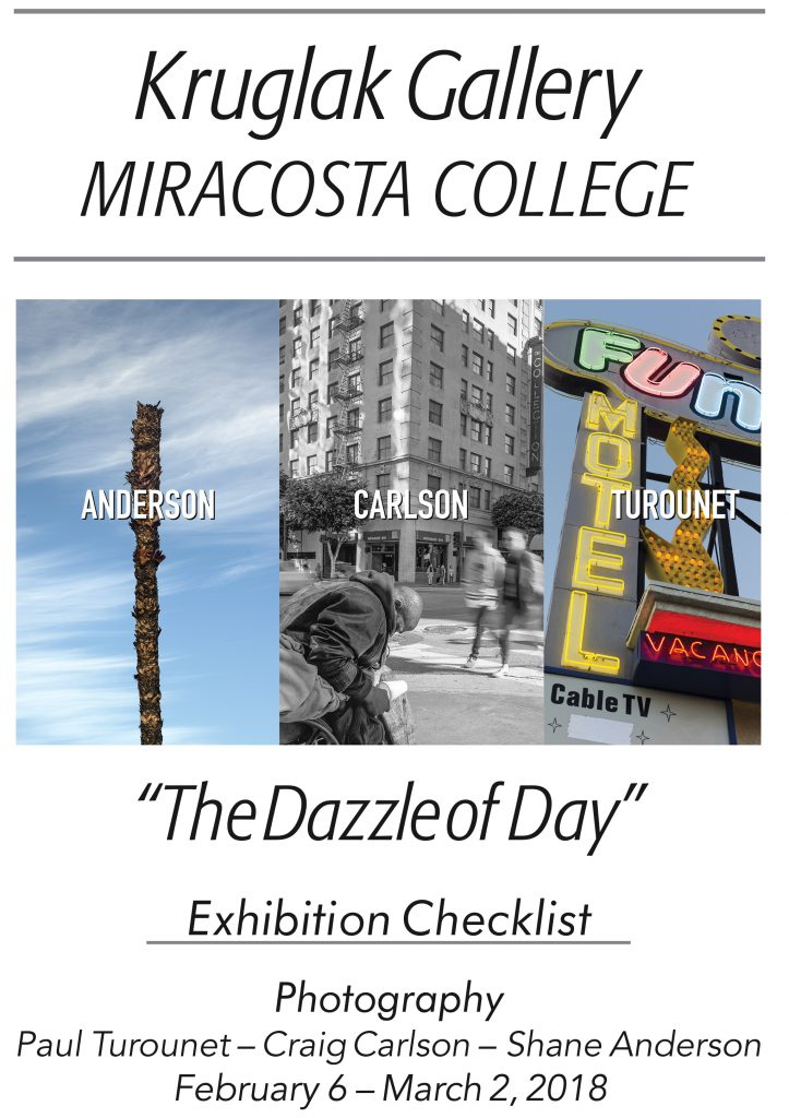 __Cover Only_Dazzle of Day Checklist_Krulak Gallery
