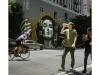 41_2016n086_7, Walking & Drinking With Painted Portrait, Downtown Los Angeles.jpg